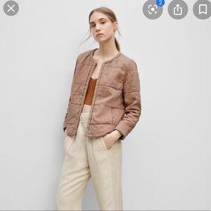 Aritzia Jonquille quilted jacket